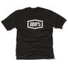 100% Essential T-Shirt Herrer sort